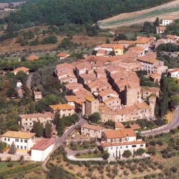 San Donato in Poggio: vista aerea