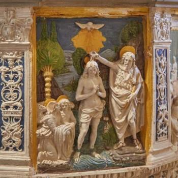 Fonte battesimale di Giovanni Della Robbia (1469-1529)